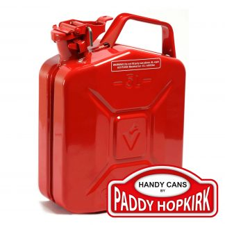 5 Litre Steel Jerry Can - Red