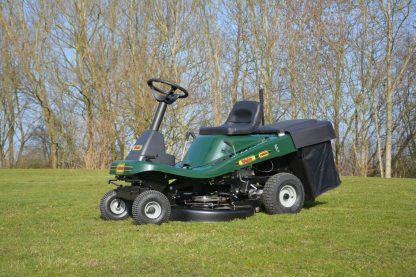 WE12530 Ride-on Lawnmower Side View